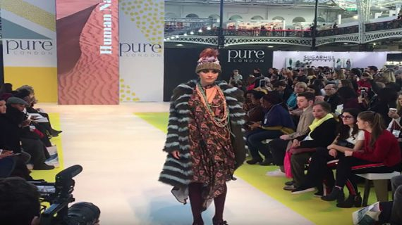 """Fonem Textile conqueres """"Pure London"""" in February 2018"""